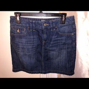 Ann Taylor - LOFT size 0 denim skirt